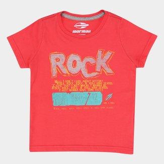 Camiseta Infantil Mormaii Pent Estampada Masculina
