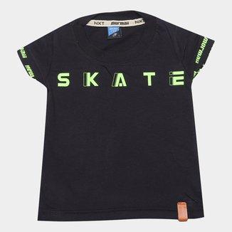 Camiseta Infantil Mormaii Skate Masculino