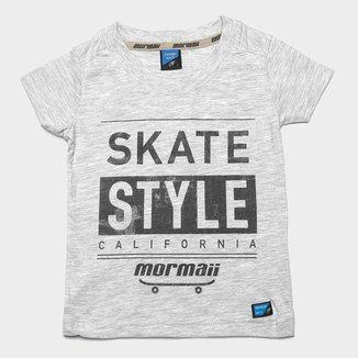 Camiseta Infantil Mormaii Skate Style California Masculina