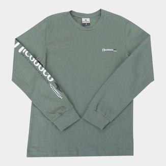 Camiseta Infantil Nicoboco Bugia Manga Longa Masculino