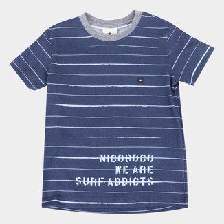 Camiseta Infantil Nicoboco Digital German Masculina