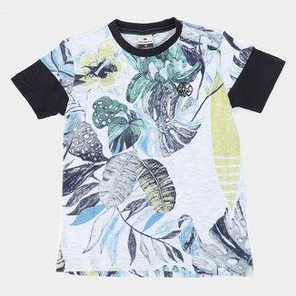 Camiseta Infantil Nicoboco Digital Logy Masculina