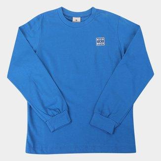Camiseta Infantil Nicoboco Orao Manga Longa Masculina