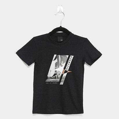 Camiseta Infantil Nicoboco Skate Masculina