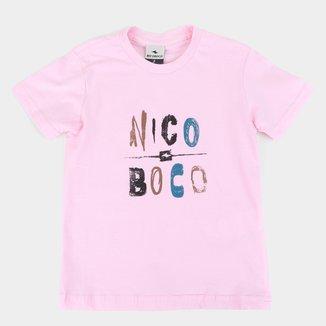 Camiseta Infantil Nicoboco Tricidade Masculina