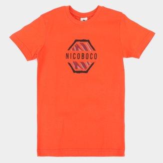 Camiseta Infantil Nicoboco Wieliczka Masculina