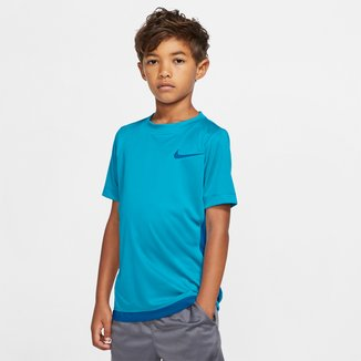 Camiseta Infantil Nike B Dry Top Ss Trophy Manga Curta Masculina