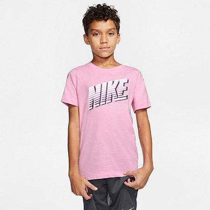 Camiseta Infantil Nike Block Sportswear