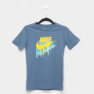Camiseta Infantil Nike Melted Masculina