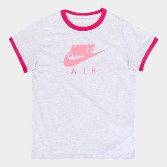 Camiseta Infantil Nike Nsw Tee Ringer Ni Feminina