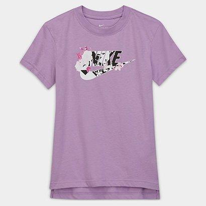 Camiseta Infantil Nike Sportswear Feminino