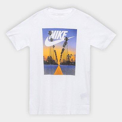 Camiseta Infantil Nike Sportswear Palm Tree Futura Masculina