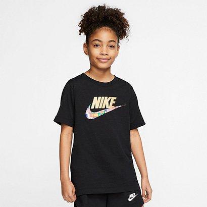 Camiseta Infantil Nike World Futura