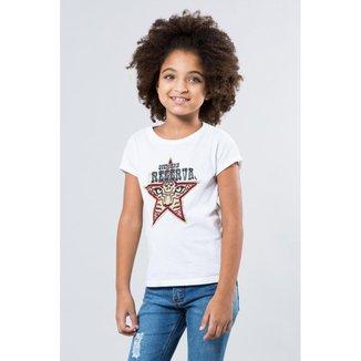 Camiseta Infantil Preserve Reserva Mini Feminina