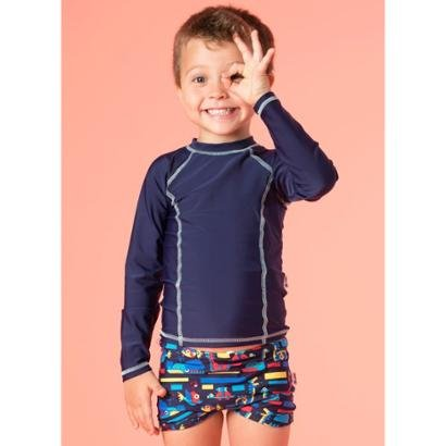 Camiseta Infantil Puket Básica Lisa