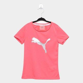 Camiseta Infantil Puma Active Sports Feminina
