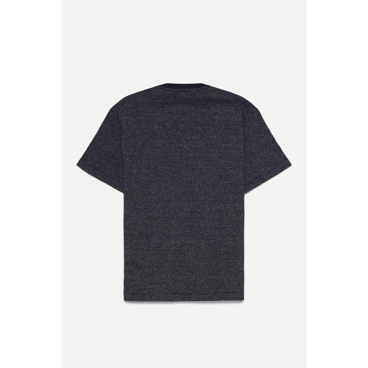 Camiseta Infantil Reserva Mini Sm Basica Tinturada Masculina - Preto