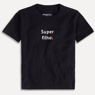 Camiseta Infantil Reserva Mini Super Filho Masculino