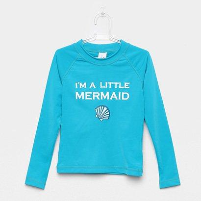 Camiseta Infantil Tip Top Cereja Praia Feminina