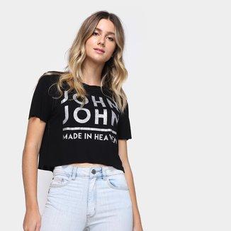 Camiseta John John Básica Feminina