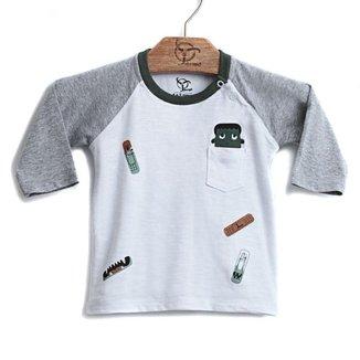 Camiseta Jokenpô Bebê Band-Aid