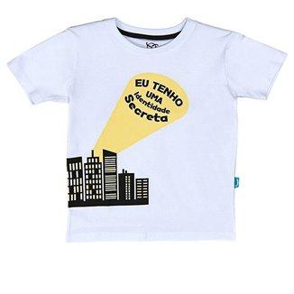 Camiseta Jokenpô Infantil Identidade Secreta Masculina