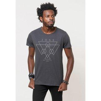 Camiseta Joss Corte a Fio Urban Masculina