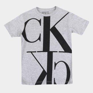 Camiseta Juvenil Calvin Klein CK Masculina