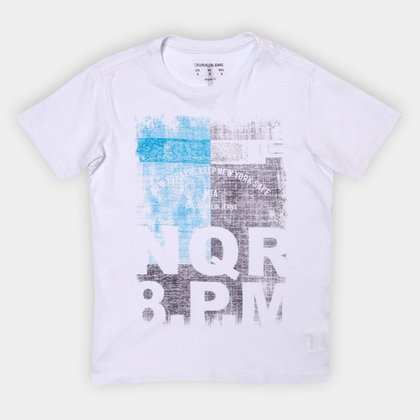 Camiseta Juvenil Calvin Klein New York Masculina