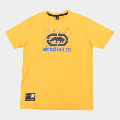 Camiseta Juvenil Ecko Estampada Masculina