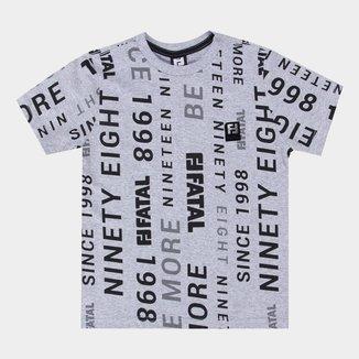 Camiseta Juvenil Fatal Original Ninety Eigth Masculina