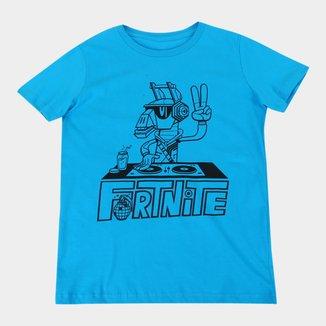 Camiseta Juvenil Fortnite Dj Yonder Masculina