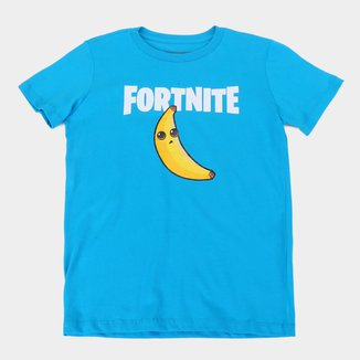 Camiseta Juvenil Fortnite Peely Banana Masculina