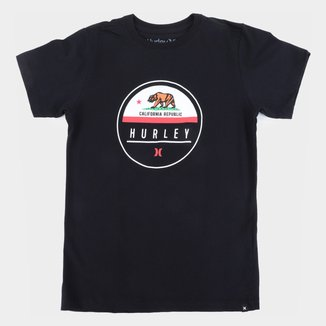 Camiseta Juvenil Hurley California Masculina