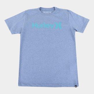 Camiseta Juvenil Hurley O&O Solid Masculina