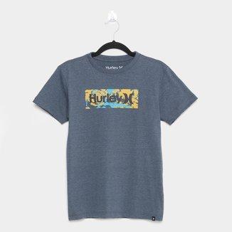 Camiseta Juvenil Hurley Radial The Dye Masculina