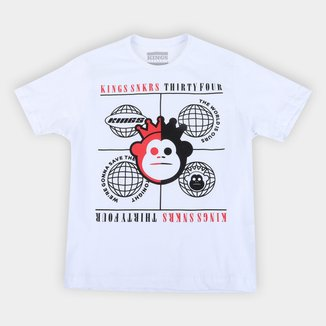 Camiseta Juvenil Kings Planet Masculina