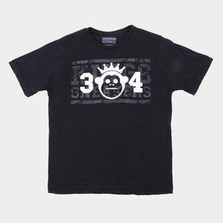 Camiseta Juvenil Kings Sneakers 34 Masculina