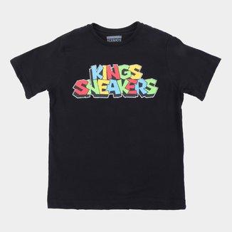 Camiseta Juvenil Kings Sneakers Color Masculina