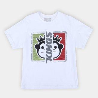 Camiseta Juvenil Kings Two Monkey Masculina