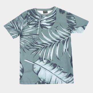 Camiseta Juvenil Lemon Folhagens Masculina