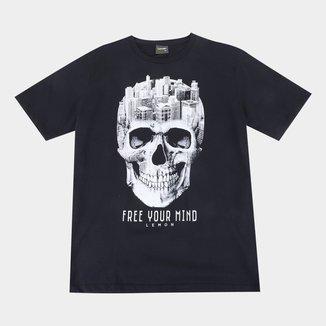 Camiseta Juvenil Lemon Free Your Mind Masculina