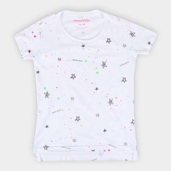 Camiseta Juvenil Mormaii Estampada Masculina - Branco