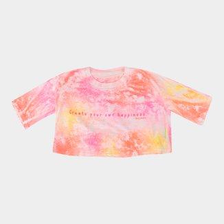 Camiseta Juvenil Mormaii Flame Tie Dye