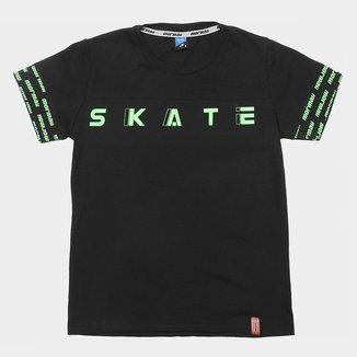 Camiseta Juvenil Mormaii Skate Masculina
