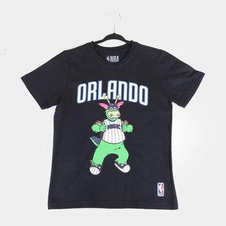 Camiseta Juvenil NBA Orlando Magic Mascote Masculina