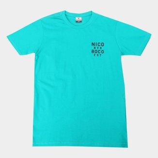 Camiseta Juvenil Nicoboco Bruges Masculina