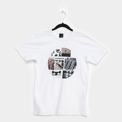 Camiseta Juvenil Nicoboco Fabric Masculina
