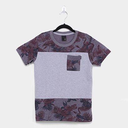 Camiseta Juvenil Nicoboco Pahoa Masculina