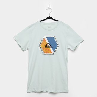 Camiseta Juvenil Quiksilver Hexa Masculina